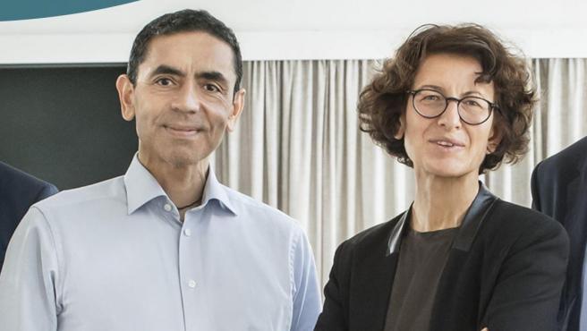 Ugur Sahin y Özlem Türeci, fundadores de BionTech.