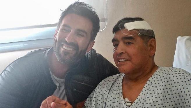 Leopoldo Luque y Maradona