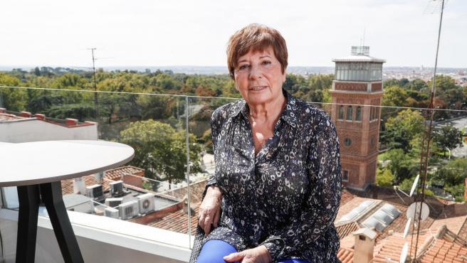 Celia Villalobos, durante la presentación de 'La politica apasionada'.