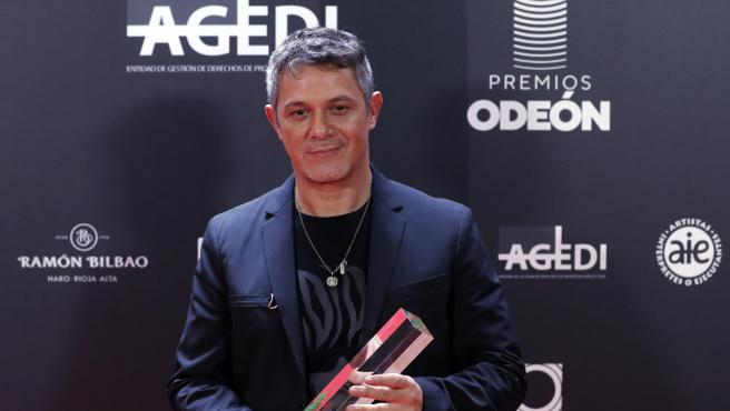 El cantante Alejandro Sanz.