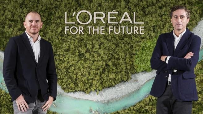 Íñigo Larraya, director de sostenibilidad, y RSC y Juan Alonso de Lomas, CEO