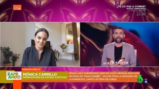 Mónica Carrillo en 'Zapeando'.