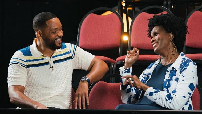 Will Smith y Janet Hubert