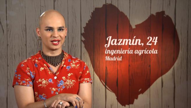 Jazmín, en 'First dates'.