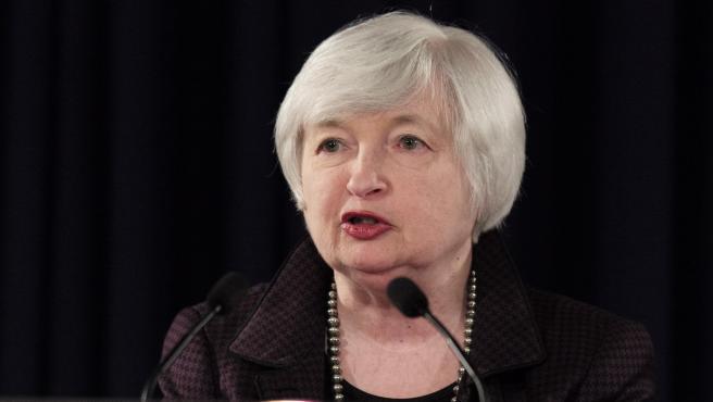 Janet Yellen en una imagen de archivo durante su mandato al frente de la Reserva Federal.
