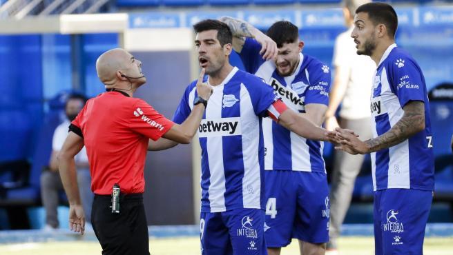 Manu García con el Alavés
