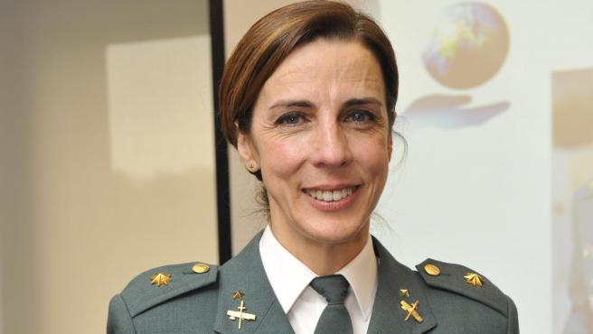 La teniente coronel de la Guardia Civil Silvia Gil