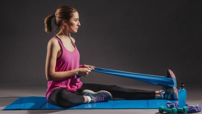 Estas bandas pueden ayudarnos a tonificar y a estirar nuestros músculos.