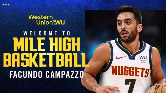 Los Nuggets anuncian a Campazzo