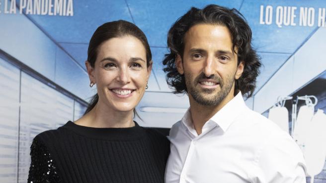 Raquel Sánchez Silva y Matías Dumont, en noviembre de 2020.