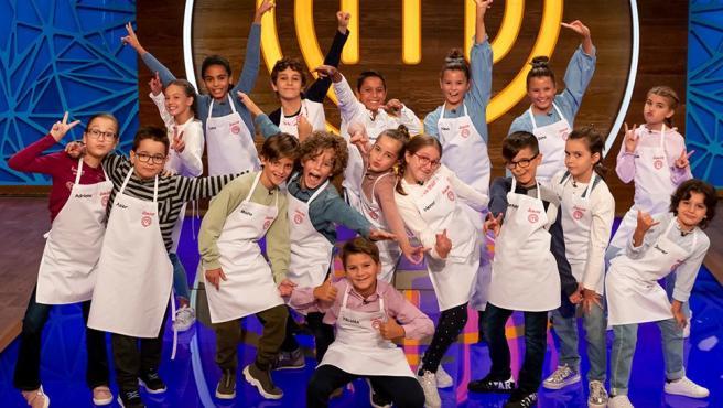 Los concursantes de la octava edición de 'MasterChef Junior'.