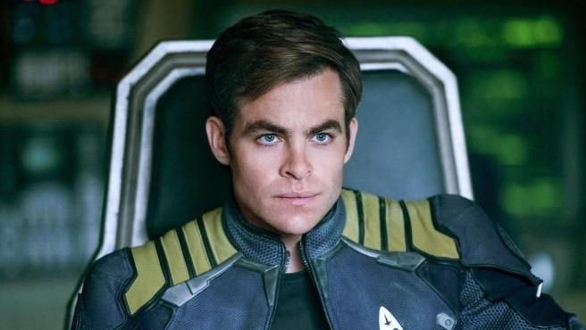 Chris Pine en la saga 'Star Trek'