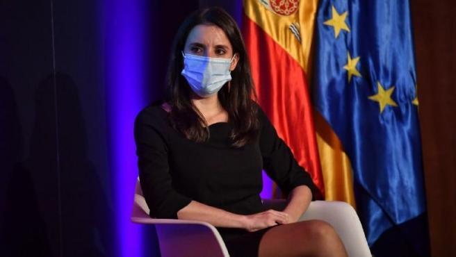 La Ministra de Igualdad, Irene Montero, en una imagen de archivo.