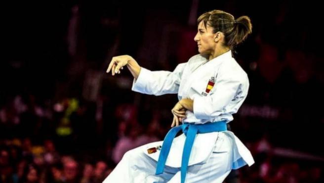 Sandra Sánchez, campeona del mundo de karate.