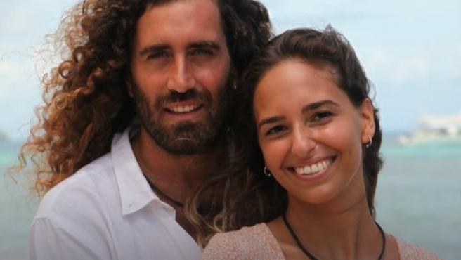 Raúl y Claudia, pareja de 'La isla de las tentaciones 3'.