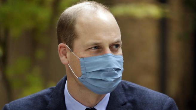 El príncipe Guillermo de Inglaterra, en 2020.