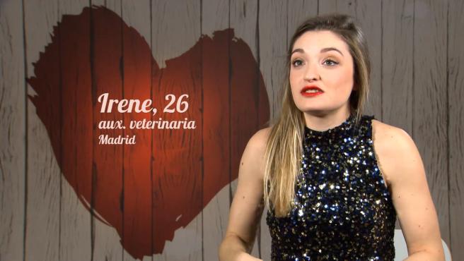 Irene, en 'First dates'.