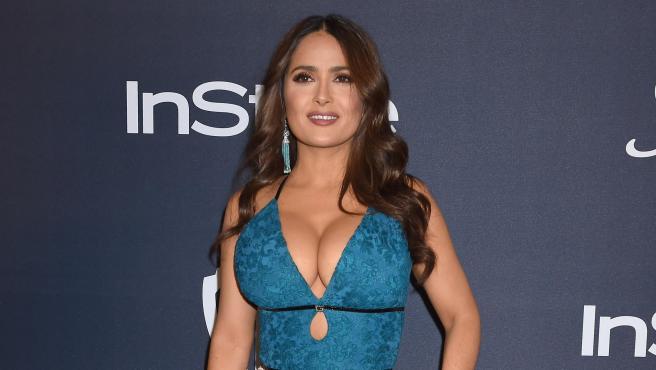 La actriz Salma Hayek, en enero de 2020.