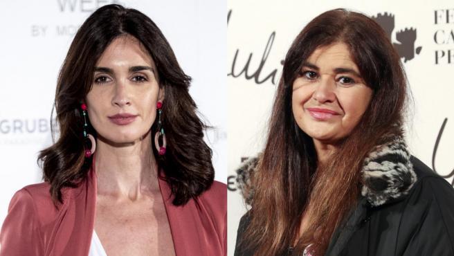 Paz Vega y Lucía Etxebarria.