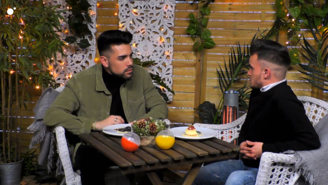 Rodrigo y Francisco, en 'First dates'.