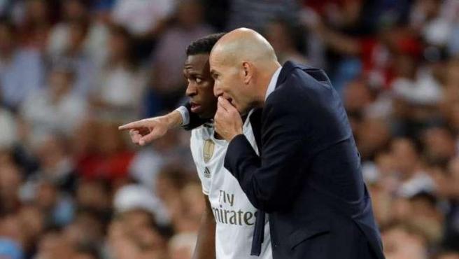 Vinícius y Zidane