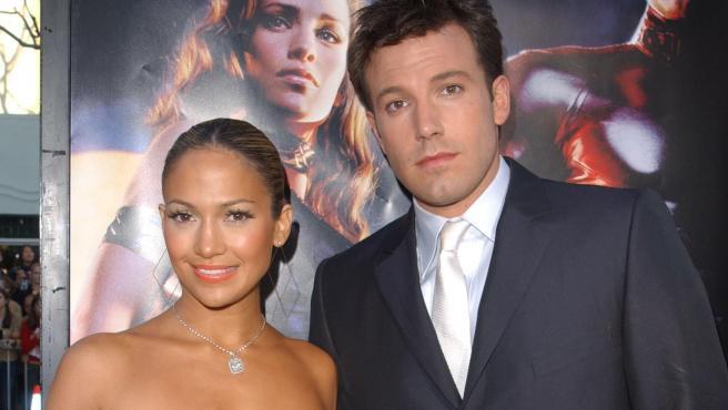 Jennifer Lopez y Ben Affleck, en una imagen de 2003.