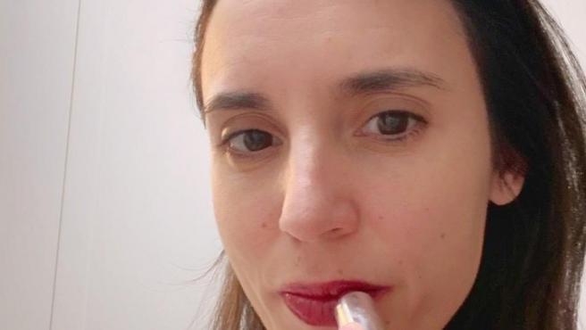 La imagen de apoyo de la ministra de Igualdad, Irene Montero, a la eurodiputada Marisa Matias.