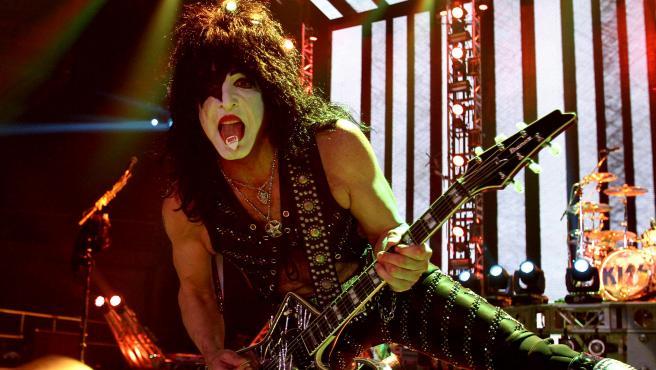 Paul Stanley, vocalista del grupo Kiss, en 2015.