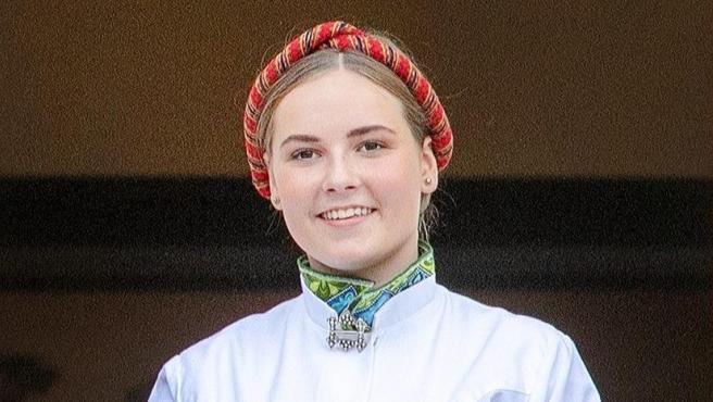La princesa Ingrid Alexandra de Noruega, en 2019.