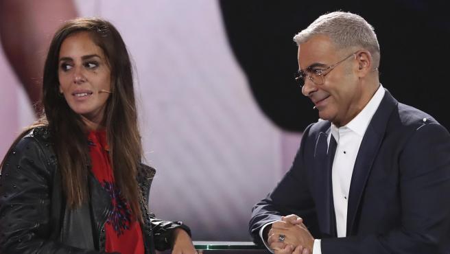 Jorge Javier Vázquez y Anabel Pantoja, en el 'GH VIP' de 2019.
