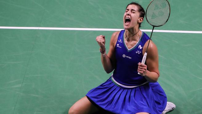 Carolina Marín gana el Open de Tailandia