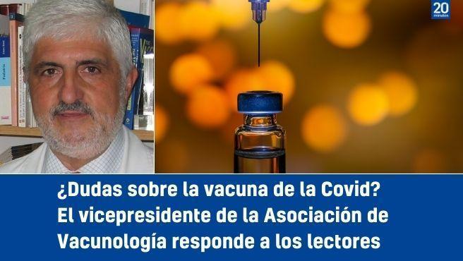Fernando Moraga-Llop, vicepresidente de la Asociación Española de Vacunología, responde a los lectores.