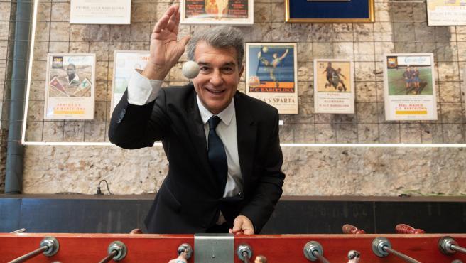 Joan Laporta, candidato a la presidencia del Barça.
