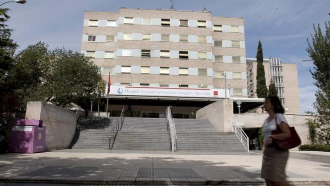 Entrada al hospital Gregorio Marañón de Madrid.