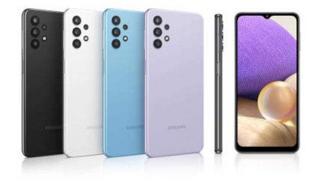 El Samsung Galaxy A32 5G llega en cuatro colores