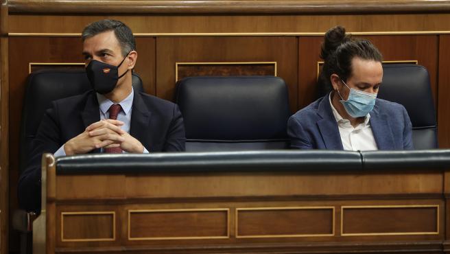 Pedro Sánchez y Pablo Iglesias en una imagen de archivo.