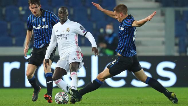 Mendy, at Atalanta - Real Madrid