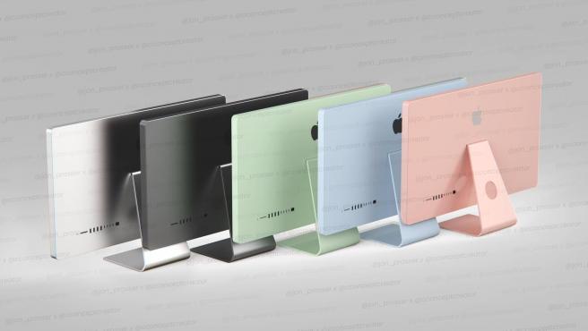 Según Prosser, lo nuevo de iMac llegaría a todo color.