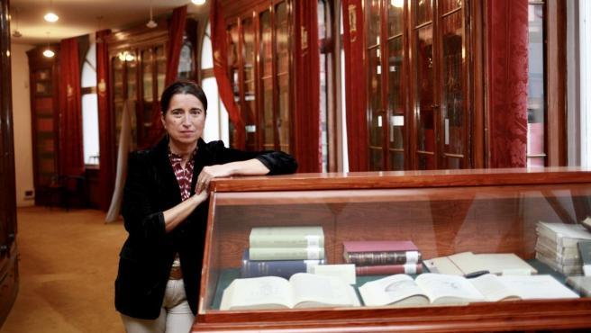Luisa González, primera mujer candidata a presidir la Organización Médica Colegial.