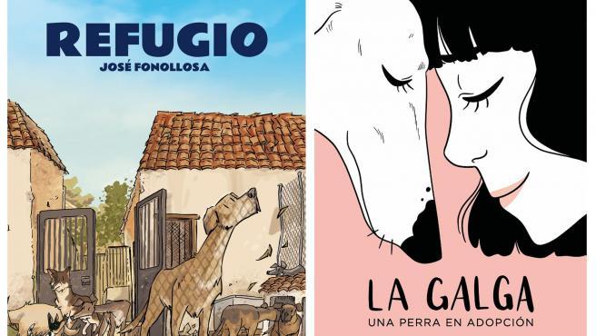 'Refugio', de José Fonollosa, y 'La galga', de Sara Caballería.