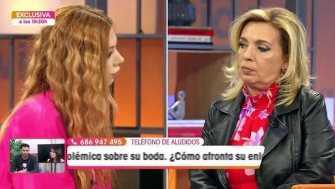 Alejandra rubio y Carmen Borrego.