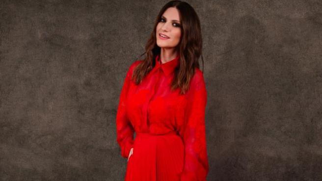 Laura Pausini en los Globos de Oro 2021