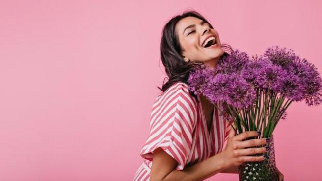 Las flores siempre dan alegría a un hogar.