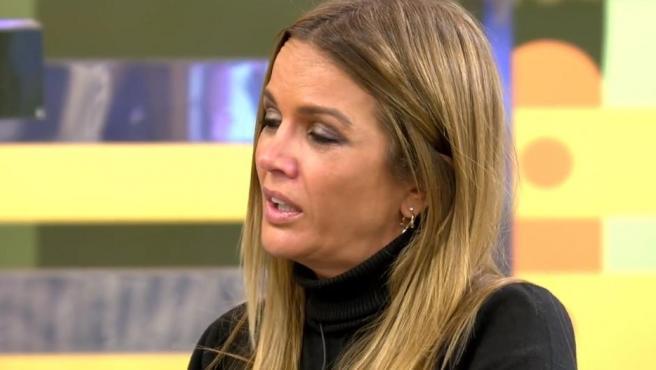 Marta López, hablando de Álex Casademunt en 'Sálvame'.