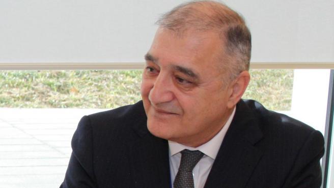 Jakhongir Ganiev, embajador de la República de Uzbekistán en España.