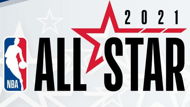Logo del All-Star 2021 de la NBA.