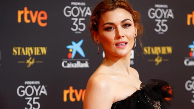 Marta Nieto en la gala de los Goya 2021.