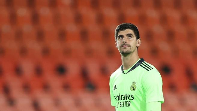 Thibaut Courtois, portero del Real Madrid.