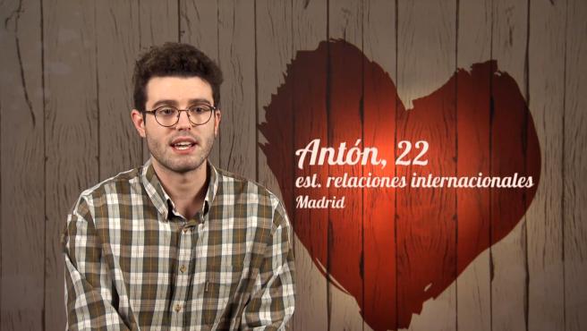 Antón, en 'First dates'.