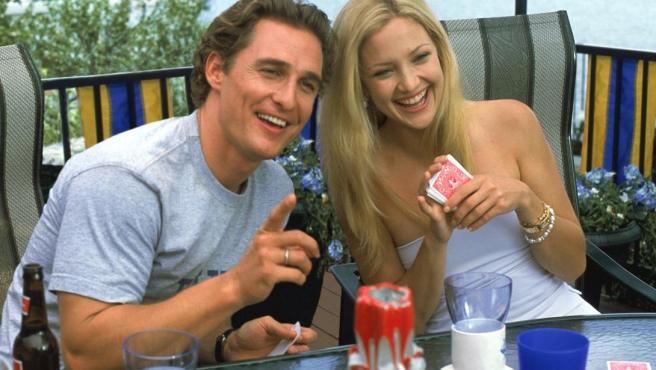 Kate Hudson con Matthew McConaughey en 'Cómo perder a un chico en 10 días'